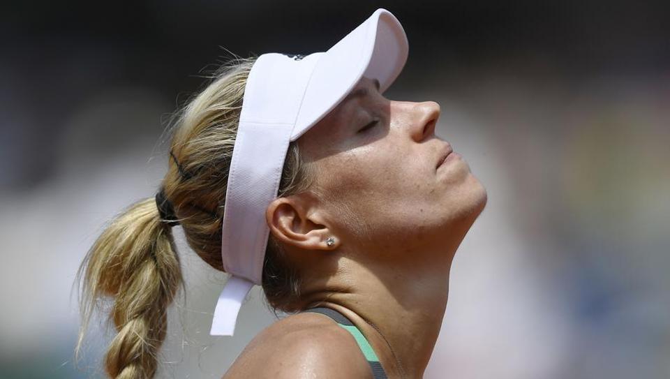 Angelique Kerber,French Open,Ekaterina Makarova