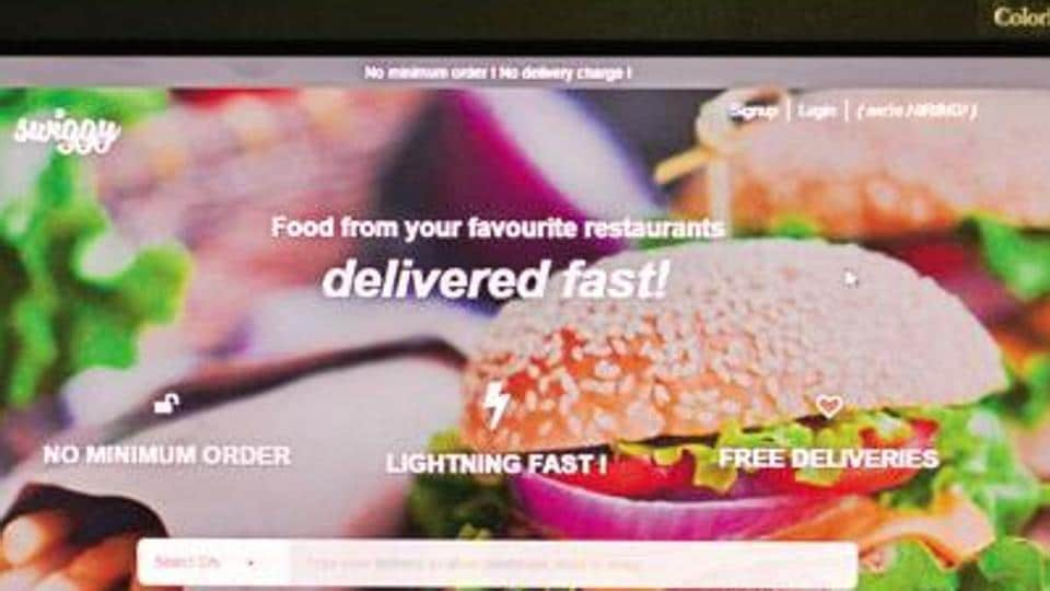 Swiggy offers fast delivery services.