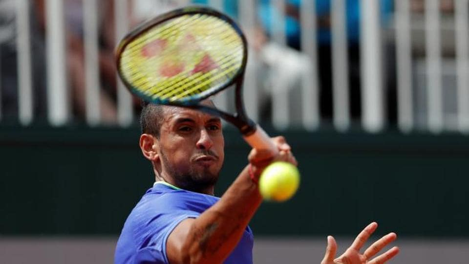 french open,tennis,Nick Kyrgios