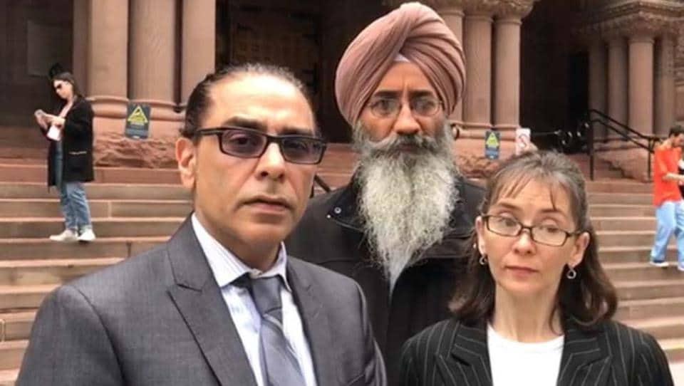 Tejinder Singh Dhillon,Central Reserve Police Force,Sikhs for Justice