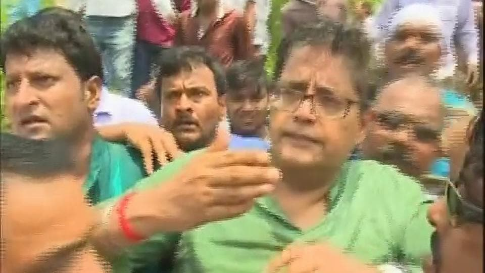 Egg thrown at BJD leader Jay Panda in Odisha's Kendrapara district