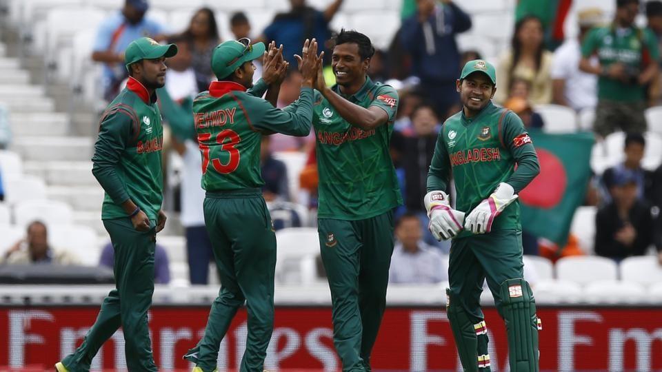 Rubel Hossain and Mustafizur Rahman struck as they removed the openers cheaply as Bangladesh made a great start. (REUTERS)