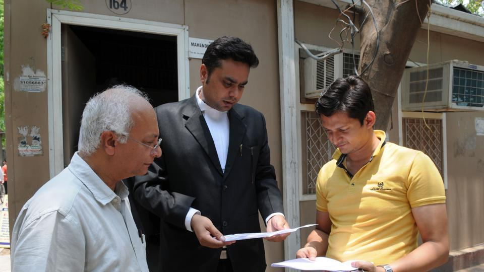 Two Palam Vihar residents moved court after MCG threatened to demolish their houses which came in the way of a project.