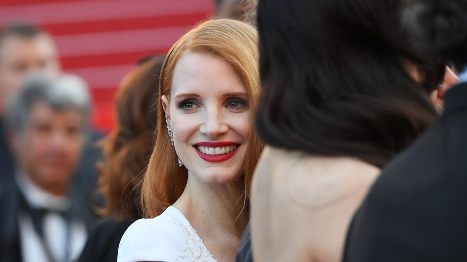 Jessica Chastain was a member of the jury at this year's Cannes Film Festival.
