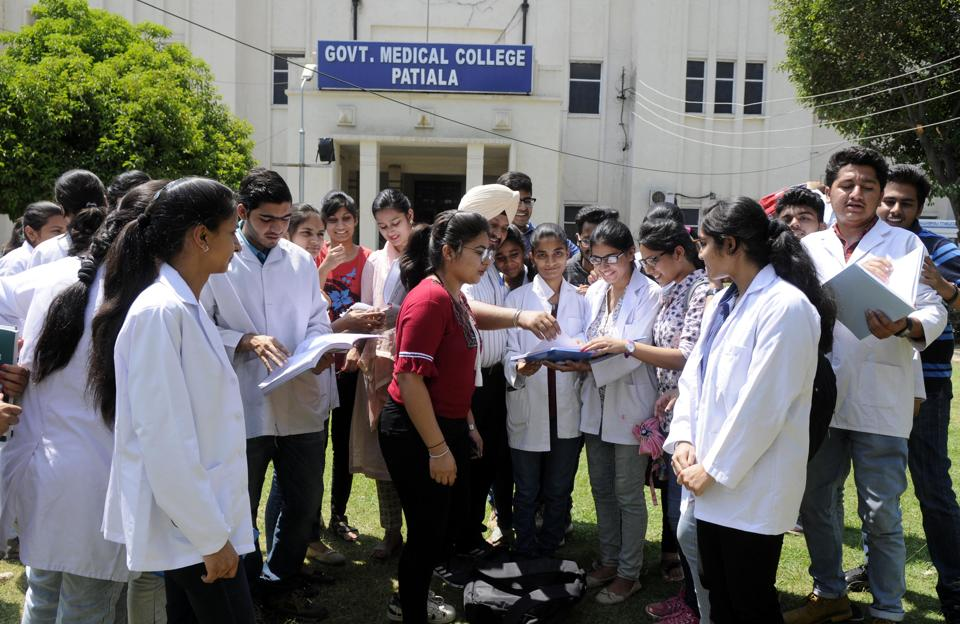 At present, Punjab has three government medical colleges, while five others, which will admit students from this session, are private institutes. Going by past trends, Government Medical College, Patiala and Ludhiana's Dayanand Medical College (DMC) and Hospital are most sought after among the top rankers.