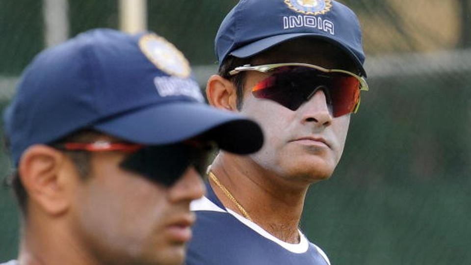 The one-year contract of Anil Kumble (right) as Indian cricket team coach will expire at the end of the ICCChampions Trophy 2017. Kumble's former teammate and the current India 'A' and Under-19 team coach, Rahul Dravid, has the credentials and expertise to replace him, feels Ricky Ponting.