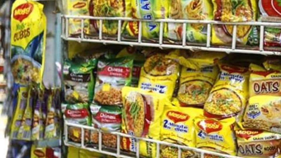 Representative photo. Packets of Nestle's Maggi instant noodles at a shop.