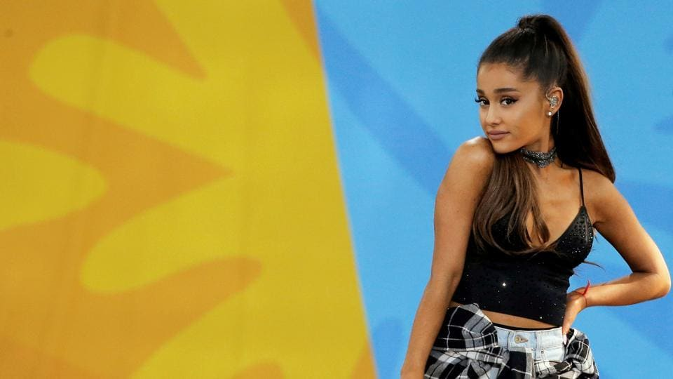 Ariana will perform with several other big names.