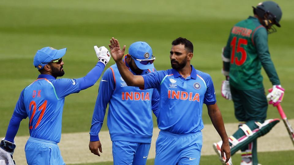India put in a magnificent performance as they defeated Bangladesh by 240 runs to give them the ideal preparation for the ICC Champions Trophy. (REUTERS)