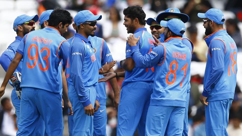 India produced a magnificent all-round performance as they thrashed Bangladesh by 240 runs in the second warm-up game of the ICCChampions Trophy. Get live cricket score of India vs Bangladesh here.