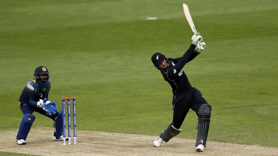 Martin Guptill scored a 76-ball 116 before retiring out in New Zealand's ICC Champions Trophy 2017 warm-up match against Sri Lanka.