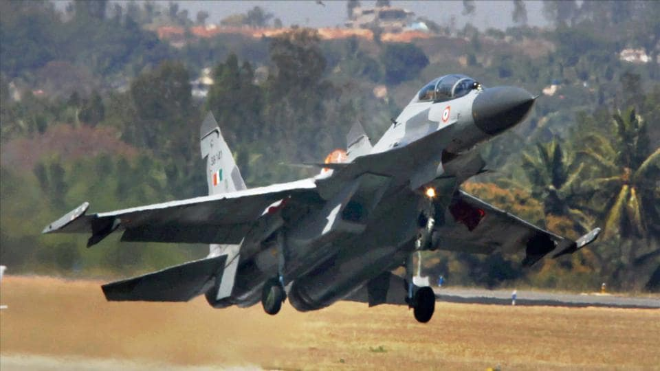 File picture of Indian Air Force's Sukhoi-30 plane.