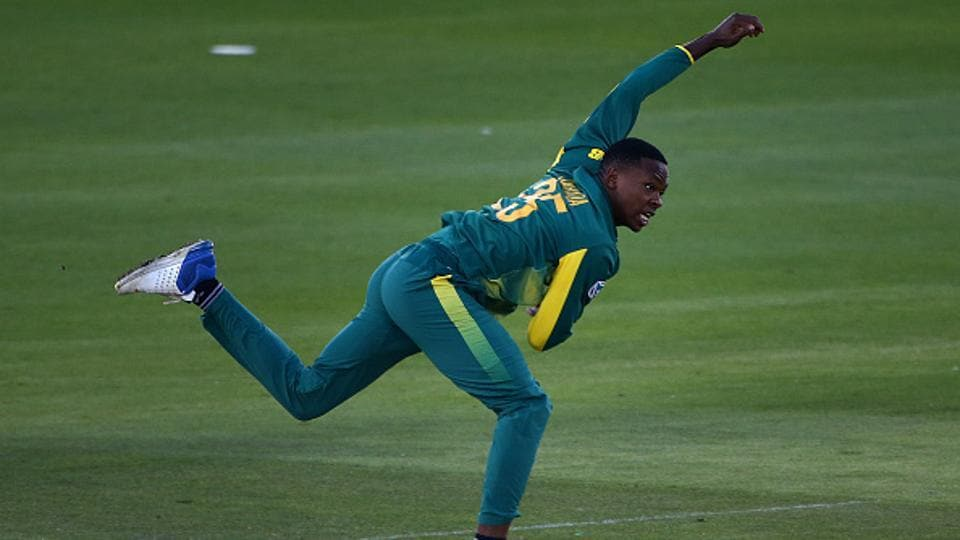 Kagiso Rabada, 22, has moved up four places to take the top spot in ICC ODI rankings for bowlers.