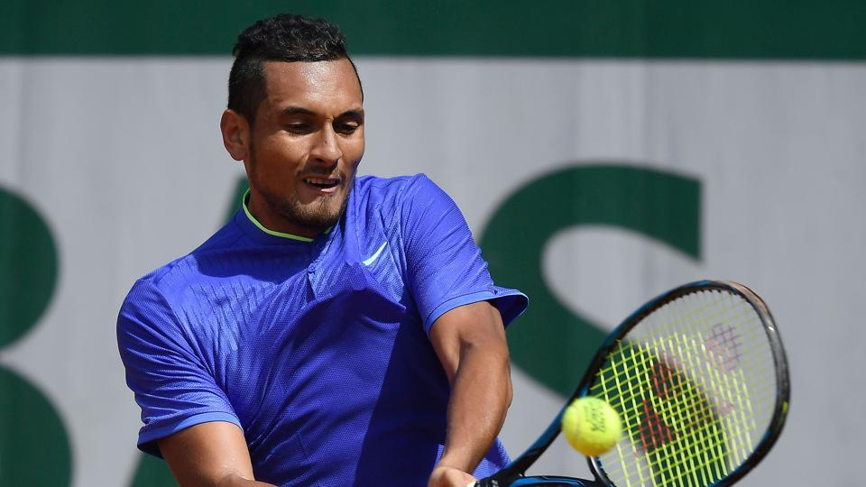 Nick Kyrgios, 18th seed,  got the better of  Philipp Kohlschreiber 6-3, 7-6 (7/4), 6-3. (AFP)