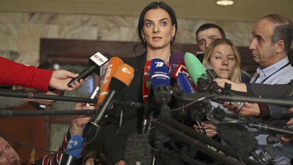 Yelena Isinbayeva has resigned as the head of Russia's anti-doping agency. She will continue to be part of the anti-doping programmes.