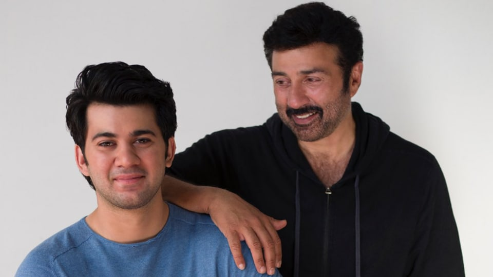 Karan is the third generation Deol to work in Bollywood.