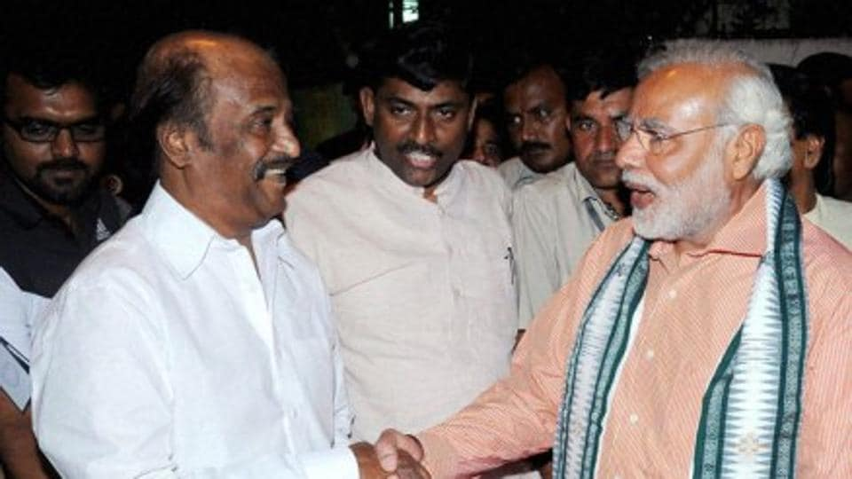 BJP,south India,Rajinikanth