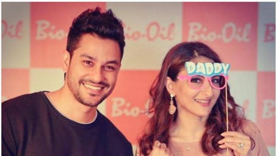 Actors Kunal Kemmu and Soha Ali Khan are expecting their first child, and celebrating with a babymoon in London.