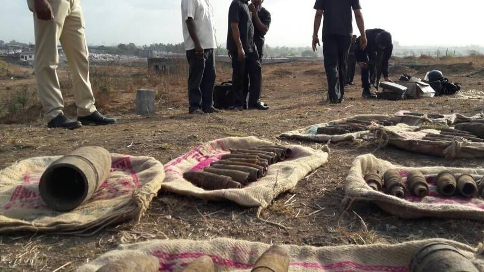 The shells were found in Thane two years ago.