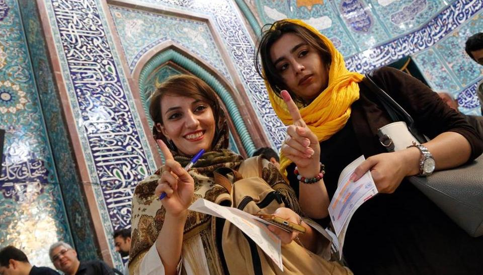 Iran,Iran TV,Headscarves in Iran
