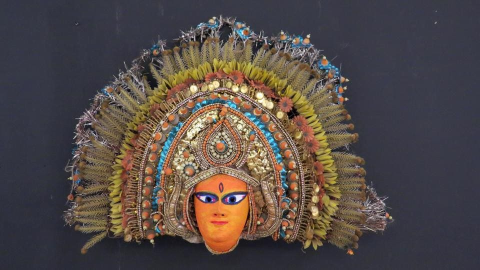 A collection of 123 masks from across India, including one from Nepal, are on display at an ongoing exhibition in the city.
