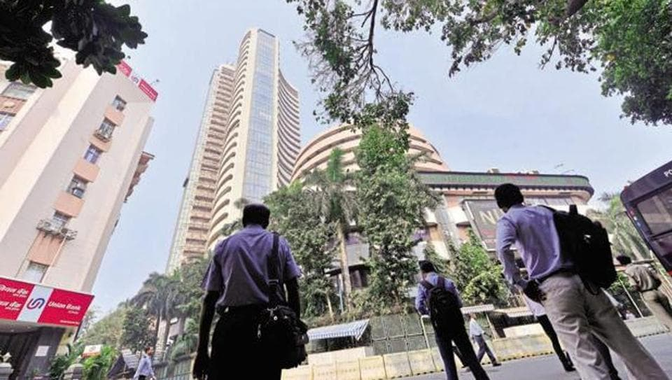 BSE building in Mumbai.