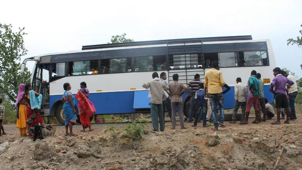 Although scared, the bus driver and commuters take comfort in the fact that the Maoists till date have not targeted a civilian passenger bus.