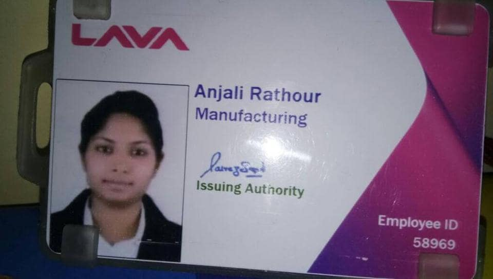 Trainee engineer Anjali Rathour was allegedly shot dead by an unidentified man, who was captured on CCTV camera.