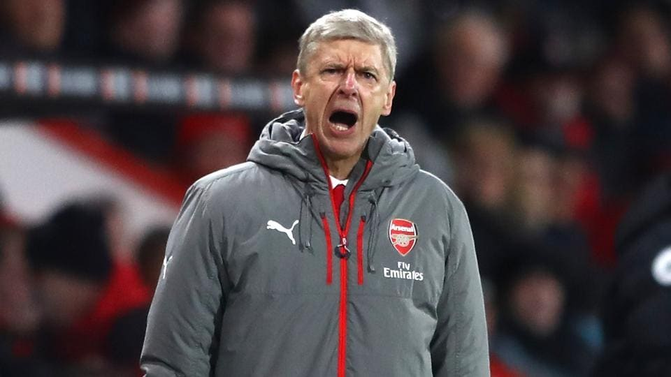 Arsene Wenger was under intense pressure to stay at Arsenal after the club finished fifth in the Premier League and failed to qualify for the Champions League after 21 years.