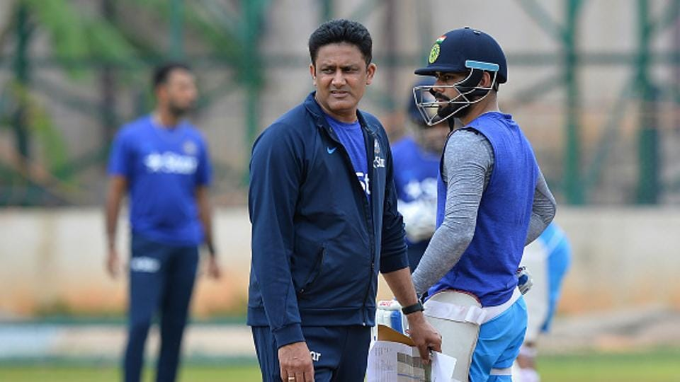 Indian cricket team head coach Anil Kumble (left) and captain Virat Kohli are currently in England for the ICC Champions Trophy 2017. There are reports that all is not well with  Kumble and Kohli. The BCCI has also advertised for a new coach.