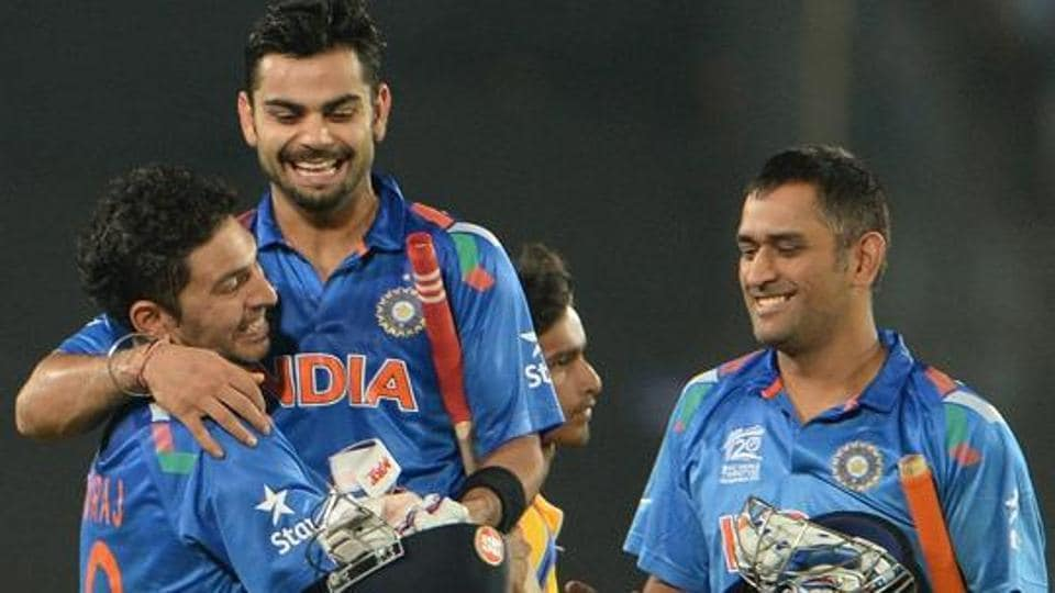 Virat Kohli, MS Dhoni and  Yuvraj Singh have found a place in this year's ESPN World Fame 100 list.