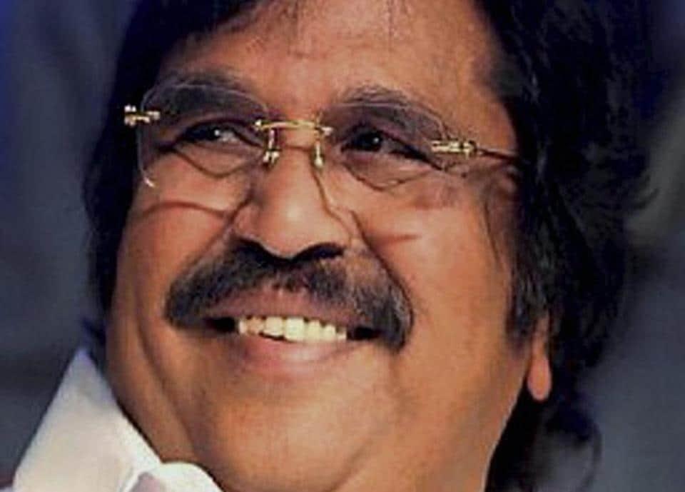 File photo of Telugu filmmaker Dasari Narayana Rao.