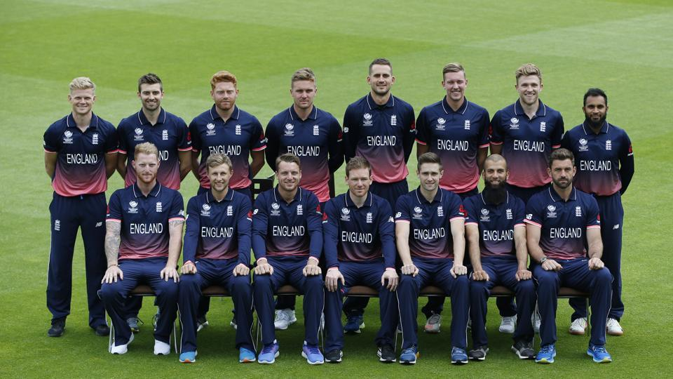 England's cricket team pose for a photograph before they get down to training for the ICC Champions Trophy 2017. (REUTERS)
