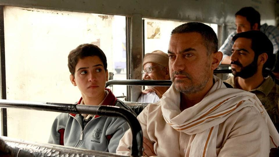 Aamir Khan plays a former wrestler in Dangal.