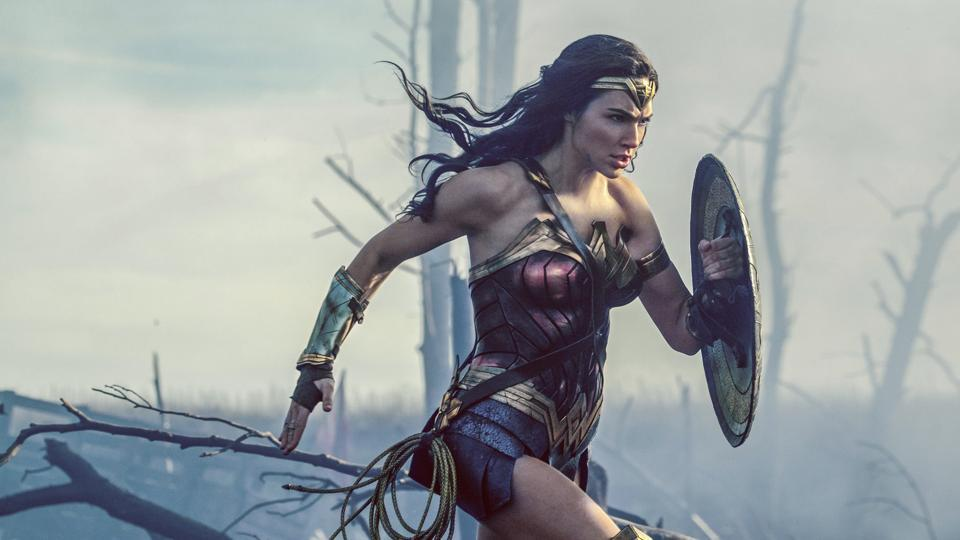 This image released by Warner Bros Entertainment shows Gal Gadot in a scene from Wonder Woman, in theatres on June 2.