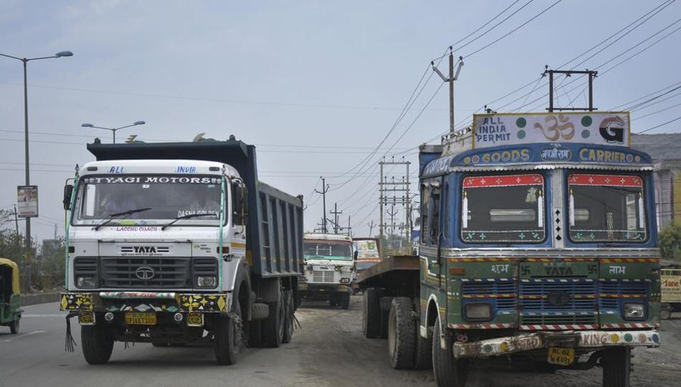 The GDA officials said the farmers' petition challenging the land acquisition for transport nagar was admitted by the Allahabad high court on Wednesday.
