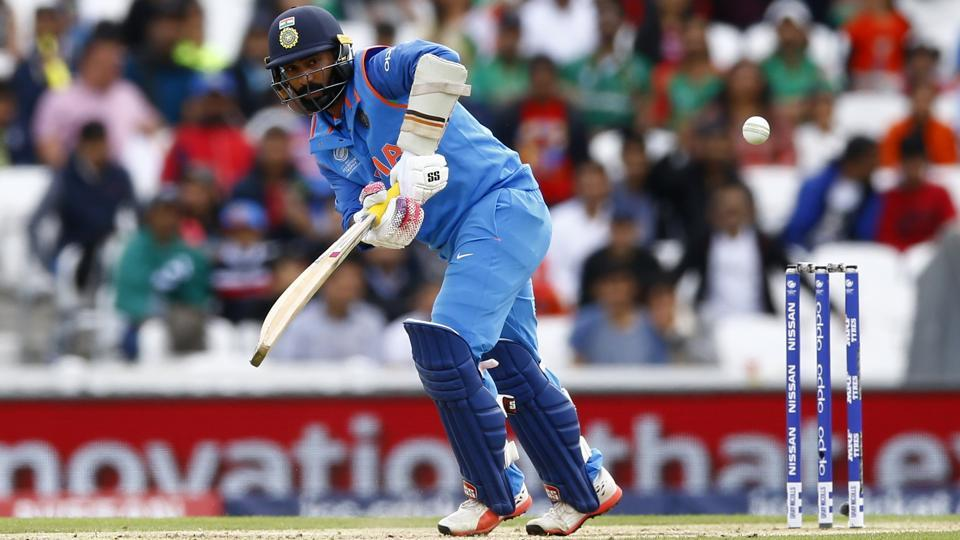 On a day when Rohit Sharma and Ajinkya Rahane failed with the bat, Dinesh Karthik scored a stroke-filled 94 for Indian cricket team in the ICC Champions Trophy 2017 warm-up game against Bangladesh cricket team at The Oval on Tuesday.