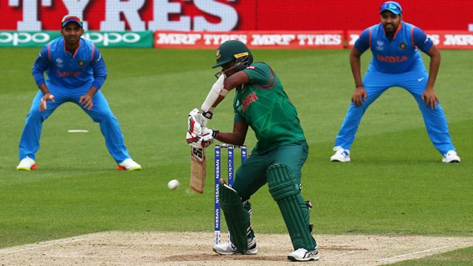 Bangladesh cricket team batsmen were jittery at best in their warm-up game against Indian cricket team, clumping to 84 all out while chasing the Indian total of 324 at the Oval onTuesday. They begin their ICCChampions Trophy campaign against hosts and favourites England cricket team on Thursday.