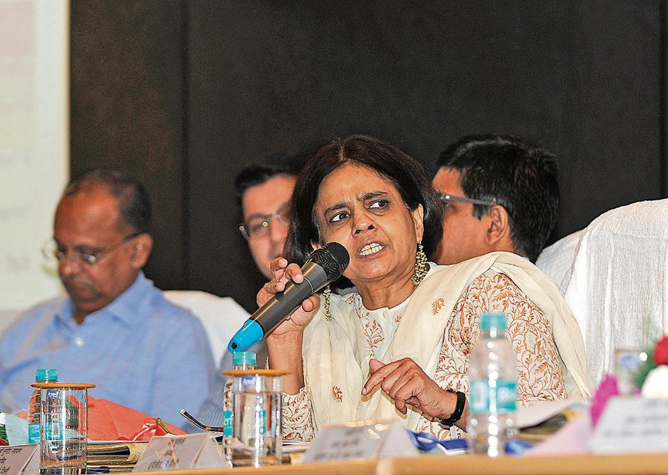 Sunita Narain, director general, Centre for Science and Environment (CSE), was among the top officials at a meeting held on Wednesday to discuss and propose plans to mitigate air pollution