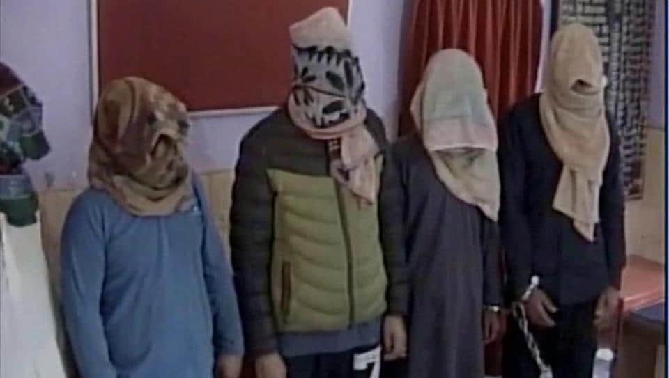Hizbul militant, five LeT men arrested in Kashmir, module busted