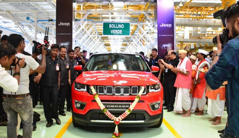 Jeep Compass,Made in India Jeep,Jeep Compass in India