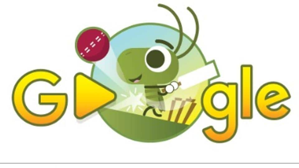 Google's Doodle has paid tribute to the ICCChampions Trophy 2017 in a unique way by making an interactive cricket game that is played by snails and crickets