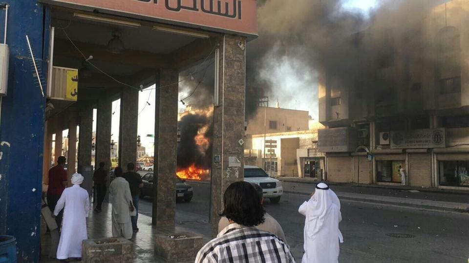 A car bomb exploded in Qatif city in eastern Saudi Arabia on Thursday. The region is home to a large Shia population.