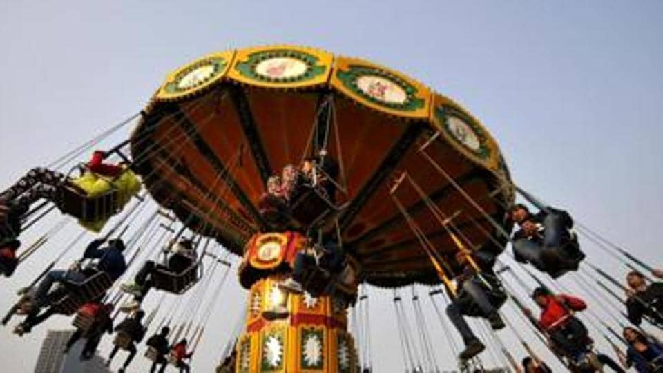 India has 104 amusement parks, of which 25 are in Maharashtra.
