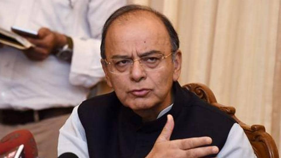 Arun Jaitley also hit out at Pakistan for scuttling chances of a dialogue.