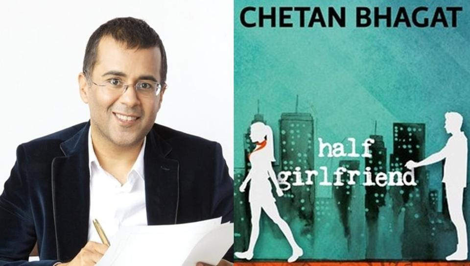 Half Girlfriend,best seller,Chetan Bhagat