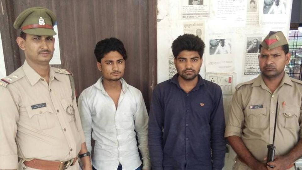 The truck driver and his accomplice were arrested for cheating and criminal breach of trust.