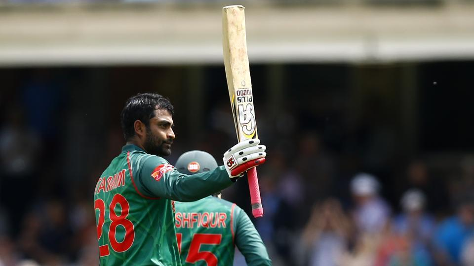 Tamim Iqbal was the pick of Bangladesh batsmen as he top-scored with a 142-ball 128. (REUTERS)