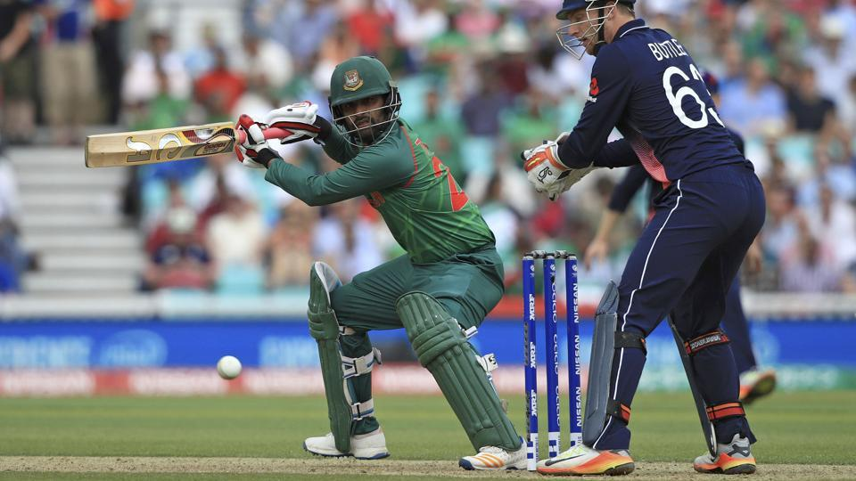 After being sent in to bat, Bangladesh were given a slow but steady start by opener Tamim Iqbal and Soumya Sarkar. (AP)