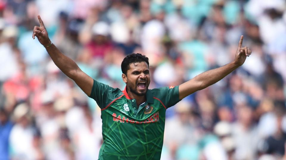 Mashrafe Mortaza, Bangladesh captain, gave his team great start as he reduced England to 6/1 by dismissing Jason Roy 6/1. (AFP)